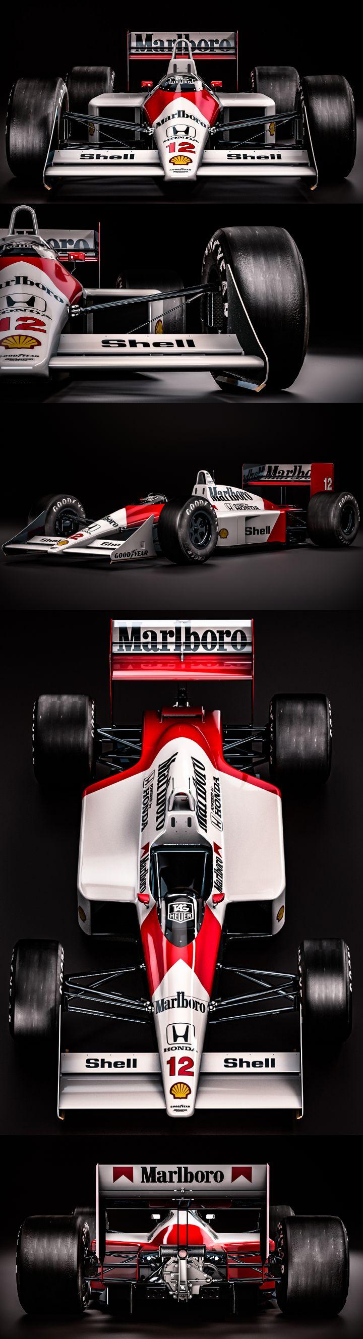 Mclaren Honda MP4/4  Ayrton Senna