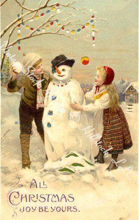 Christmas Greetings, Vintage Style!