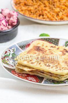 M'semmens (crepes marroquíes). #receta #vegana