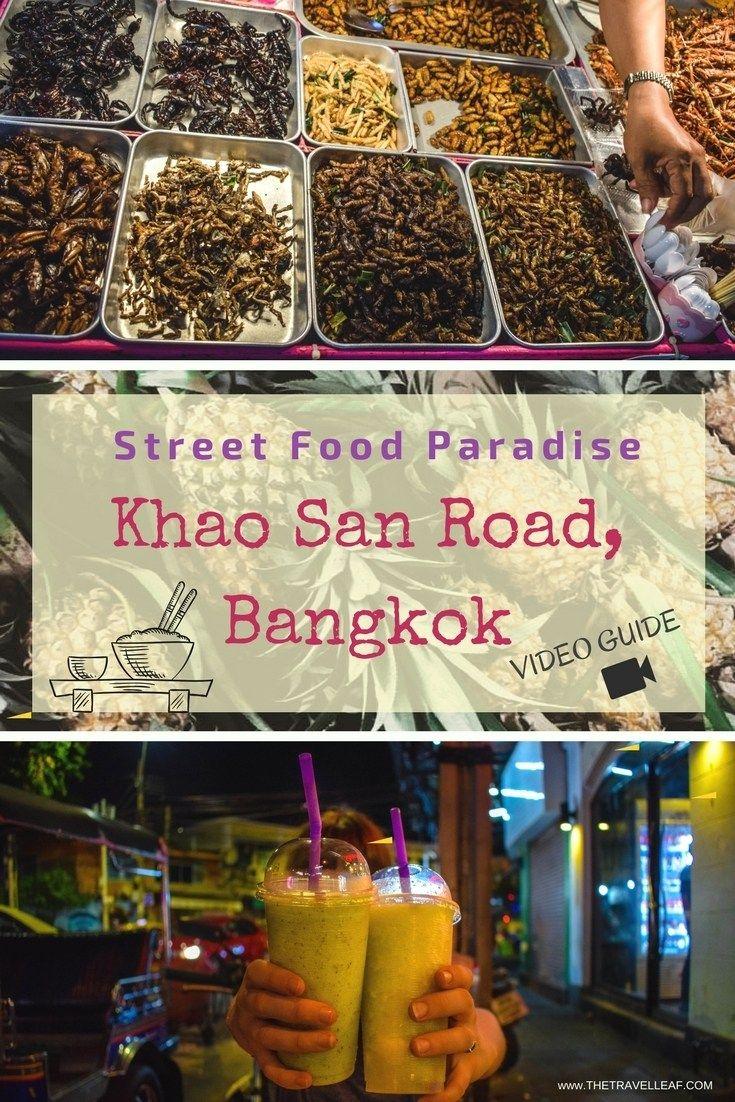 Street Food Paradise - Khao San Road, Bangkok, Thailand