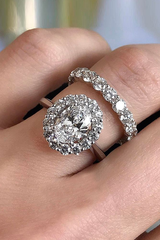 30 Beautiful Wedding Ring Sets For Your Finga Bling Pinterest Rings And