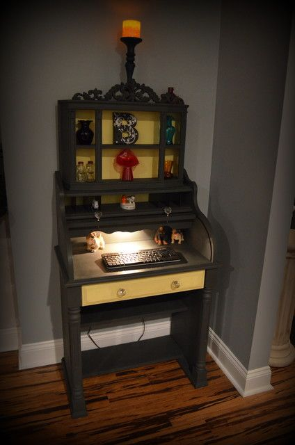 Diy Desk Makeover Laminate Furniture