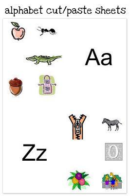 Free Printable Preschool Alphabet Worksheets - The Relaxed Homeschool