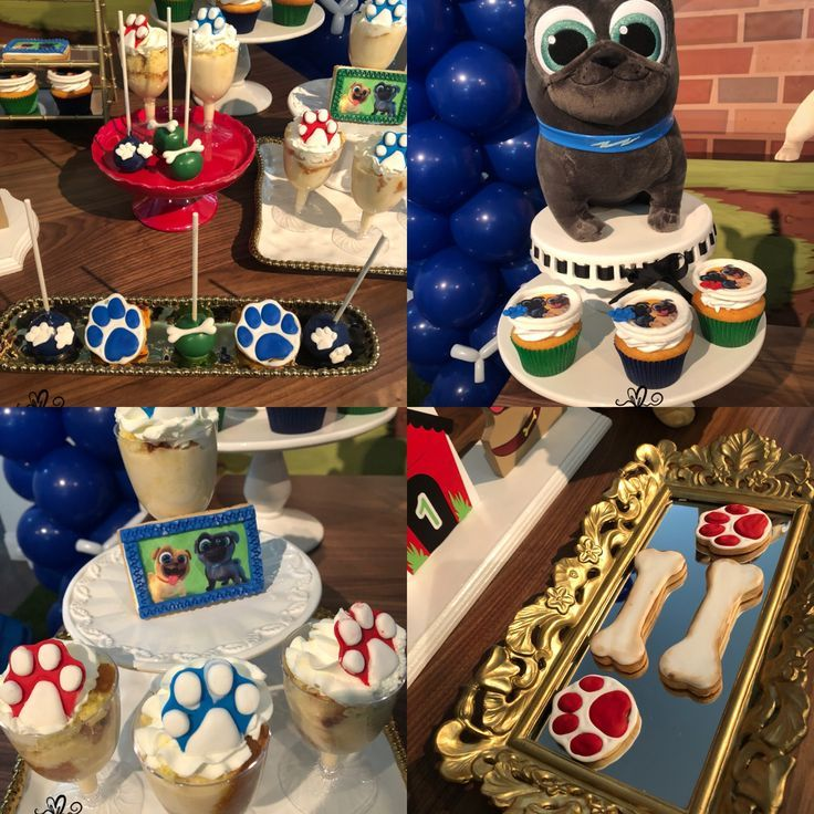 Puppy Dog Pals Sweets Puppy Dog Pal Theme Puppy Dog Pals Party