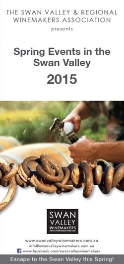 Swan Valley Events - Spring 2015