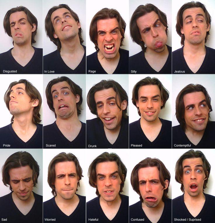 Facial expression video