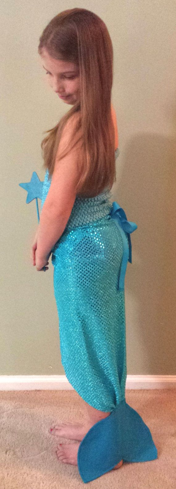 PARTY PACK Aqua Blue Mermaid Tails Party by TeatotsPartyPlanning