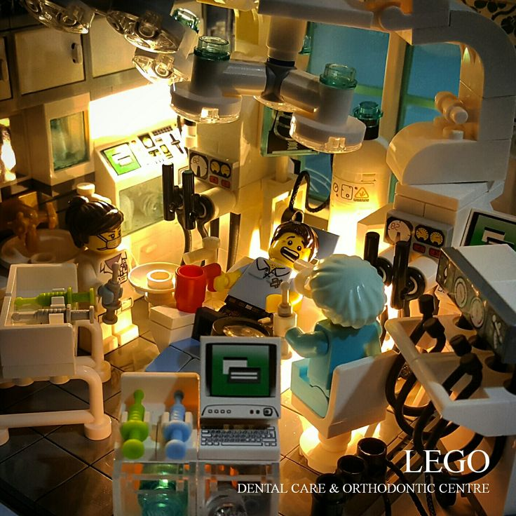 "LEGO Vignette 16x16: ""LEGO Dental Care & Orthodontic Centre"""