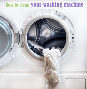 How To Clean Your {Front Loader} Washing Machine!