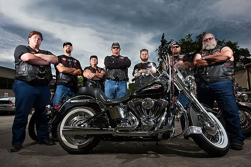 These Bikers Against Child Abuse use their bad reputation to protect boys and girls who are victims of abuse.  I love this!