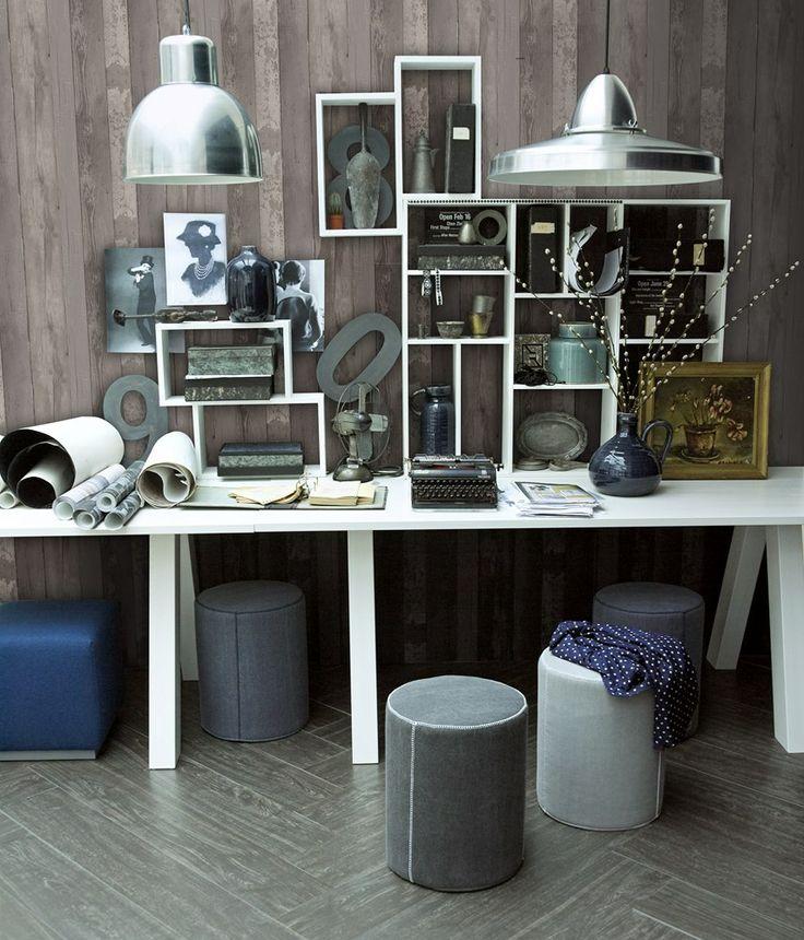 vtwonen Vliesbehang - Walnut Wood - vtwonen design online webwinkel