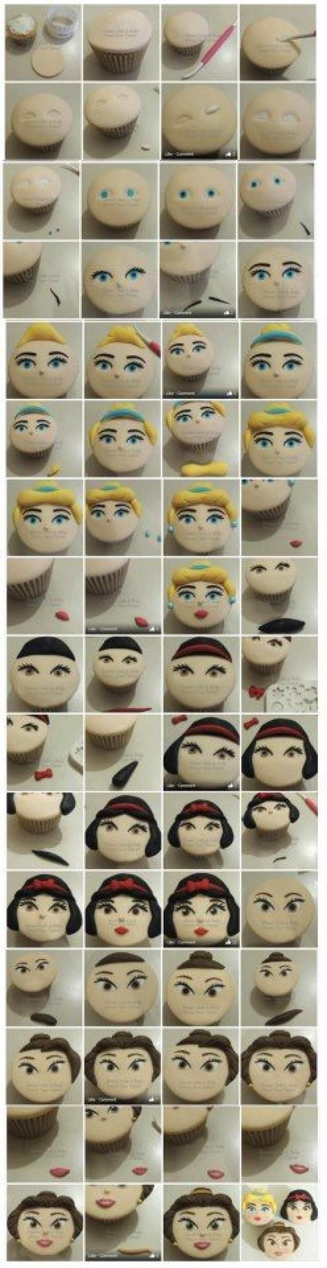 DIY - Cupcake Toppers