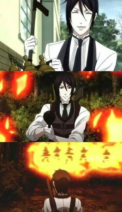 Black Butler: Book of Circus ~~ Murdering people with a smile on his face from beginning to end! :: Sebastian