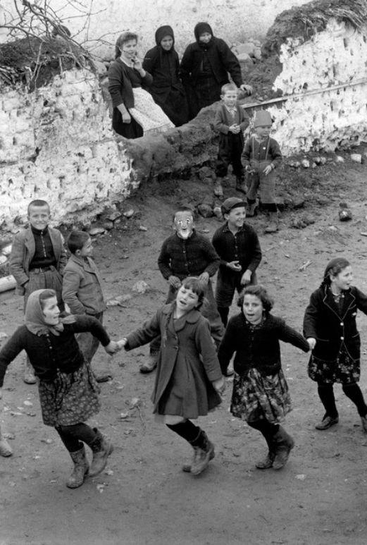 by Constantine Manos Girls dancing at a village festival, Epirus, Greece, 1964