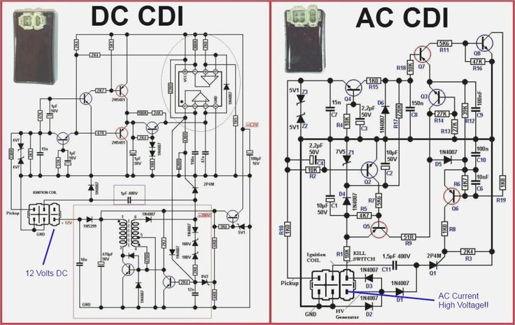 Best 6 Pin Cdi Wiring Diagram s Electrical Circuit Diagram