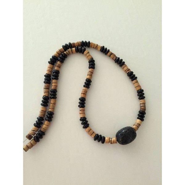 Men's Lava Bead Necklace, Men's Aromatherapy Necklace, Men's stone... (€20) via Polyvore featuring men's fashion, men's jewelry, men's necklaces, mens beaded necklaces, mens watches jewelry and mens necklaces