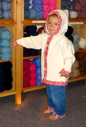 Free Knitting Pattern - Toddler & Children's Clothes: Cottage Country Cardigan