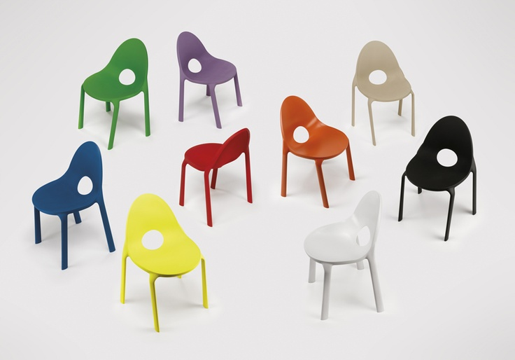 Drop chair, design by Radice and Orlandini for Infiniti