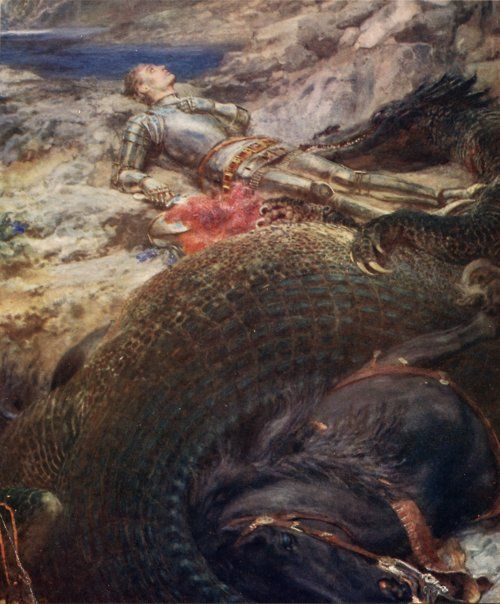 Briton Riviere -St. George and the Dragon