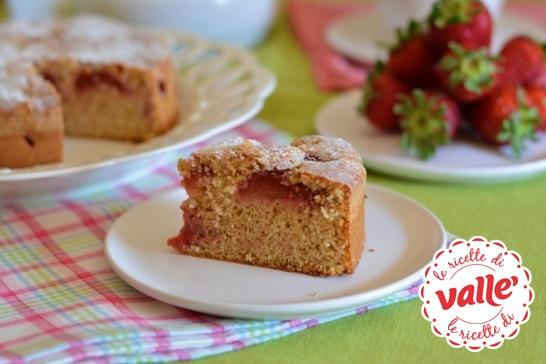 torta farro con le fragole