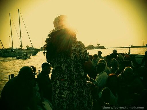 """""""Anda e Rianda"""", luglio 2013 - In compagnia dell'esilarante attrice Doranna Natali. http://itineralivorno.tumblr.com"""