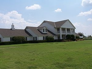 "Southfork Ranch as seen in the television series ""Dallas 1978-91 by Joe Duncan and was known as Duncan Acres, named after his family"