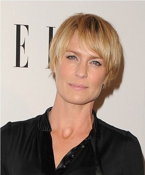 Robin Wright's great hair at ELLE Women in Hollywood event