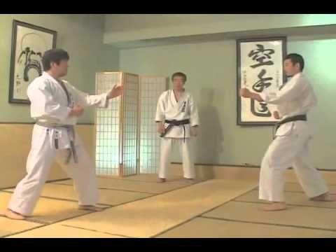 Hirokazu Kanazawa   kumite shotokan karate do