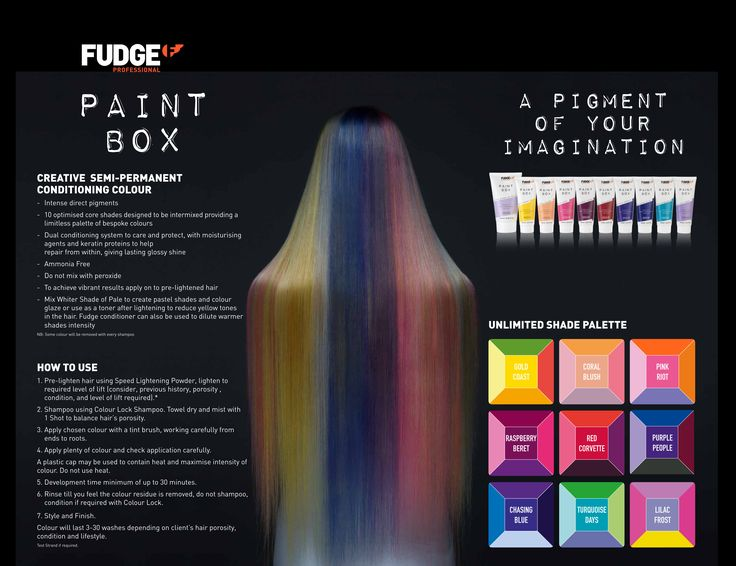 Fudge Professional Paint Box Unlimited Shade Palette.