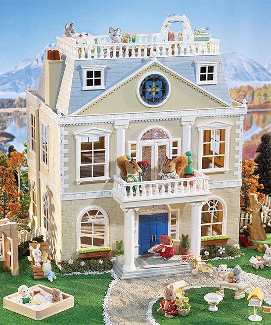 Calico Critter Cloverleaf Manor Play Set