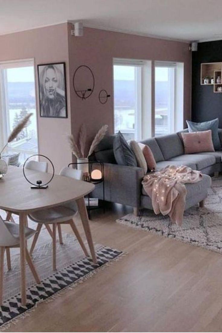 Pink living room decor  Salon tendance, Décoration salon