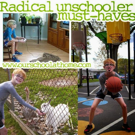 "Our radical unschooling ""school supply"" must-haves: Technology, travel, toys and more 