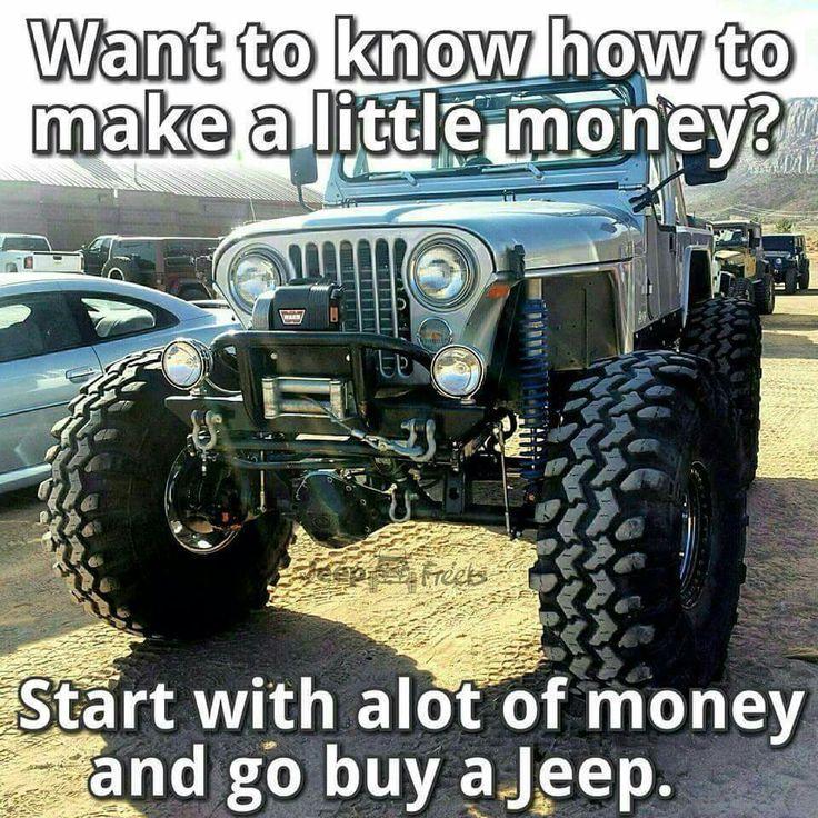 Pin by Chris Ivy on Jeep Jeep memes, Jeep jokes, Badass jeep