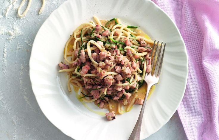 Pici con ragù di coniglio - Toscana