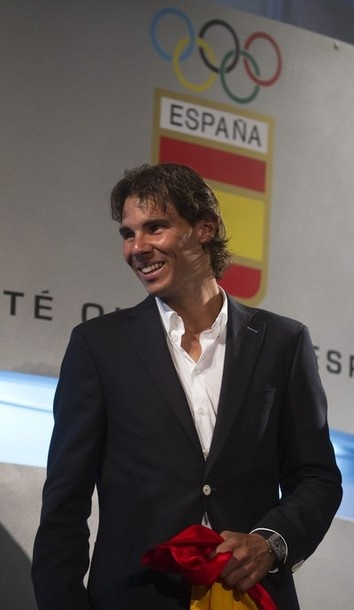 Rafael Nadal pulls out of the Olympics. He's still smokin hot y'all!
