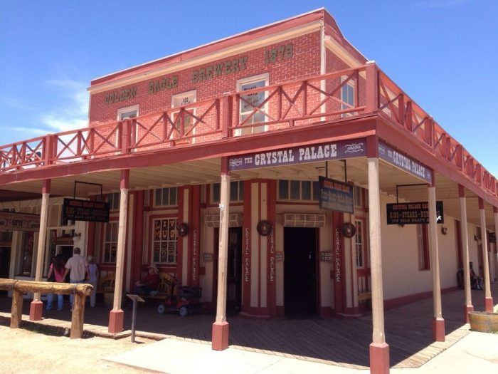 Crystal Palace Saloon Tombstone These 14 Haunted Restaurants In Arizona Will Give You