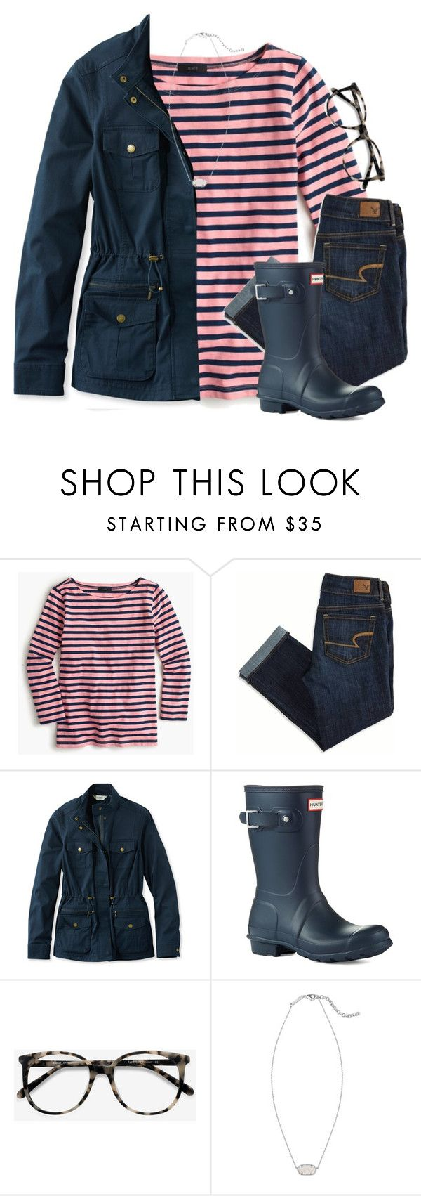 """""""I wish I was a Disney Princess :)"""" by amberfmillard-1 ❤ liked on Polyvore featuring J.Crew, American Eagle Outfitters, L.L.Bean, Hunter, Ace and Kendra Scott"""