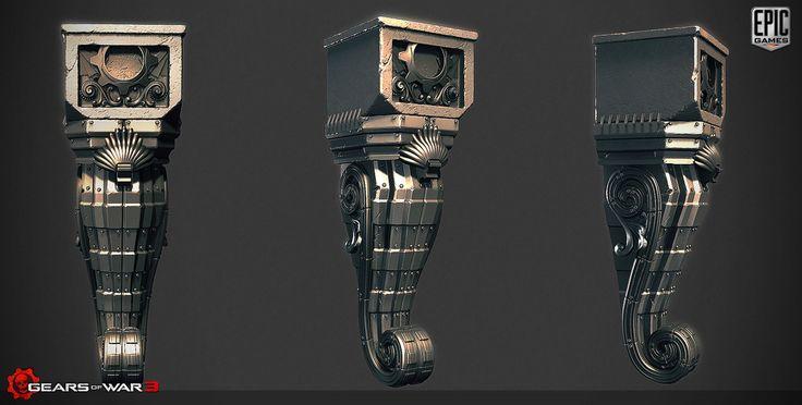 Work on Gears of War 3:Raam's Shadow