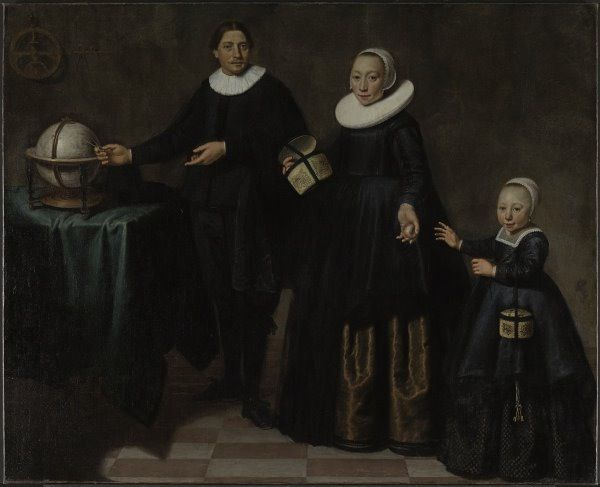Jacob Cuyp - Abel Tasman, his wife and daughter - History of Australia - Wikipedia
