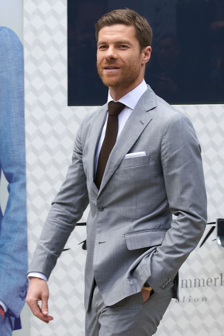 2014-04-03 Xavi Alonso presents the new Emidio Tucci collection at Casa de America on on April 3, 2014 in Madrid, Spain. (2000×3000)