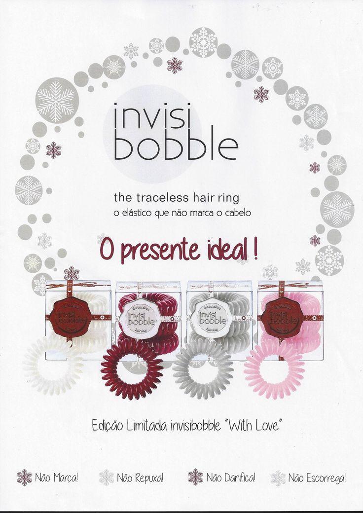 """Edição limitada Invisibobble """"With Love"""""""