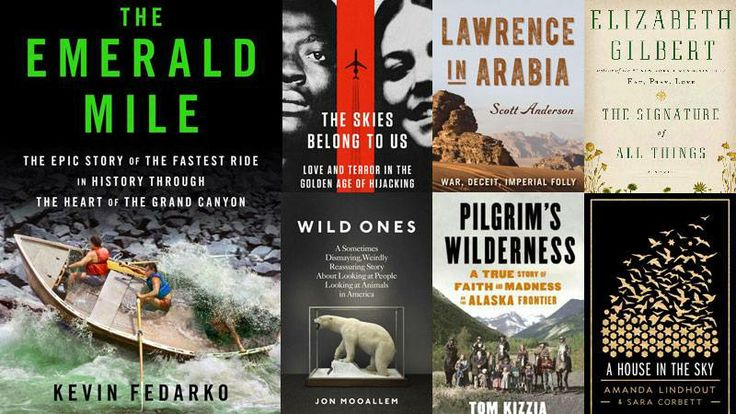 Outside Magazine's best adventure books of 2013