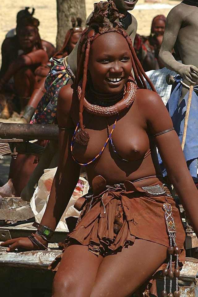 Himba woman of Namibia.