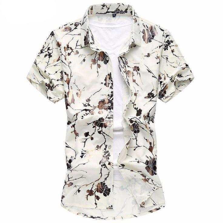 Shirt - Trendy Floral - $59.99   #men #menswear #bowtie #shoes #mensfashion #cufflinks #ascot #tie