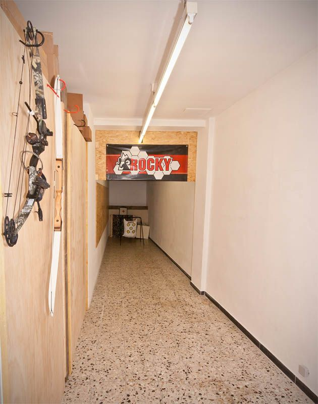 how to build a home indoor shooting range