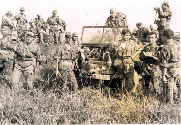 Portuguese army Company of Caçadores Especiais in Angola - Colonial War 1961-1974