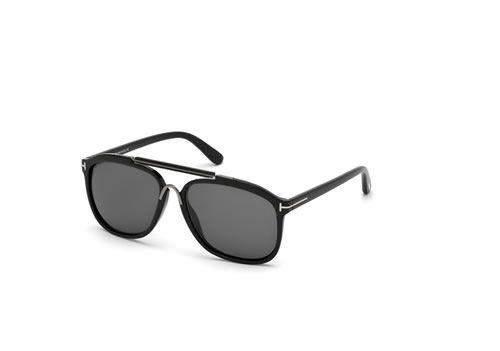 Occhiale da sole Tom Ford Uomo 0300 01A Colore nero lucido / fumo   http://www.cheocchiali.com/prodotti/occhiale-da-sole-tom-ford-uomo-0300-01a