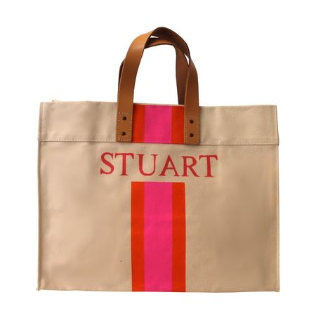 Hand-Painted Personalized Canvas Bag