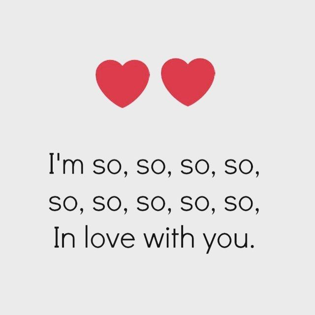 When he texts me this- my heart melts!!! I LOVE YOU MORE!!!