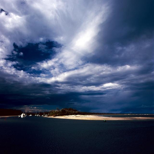 Stormy Jervis Bay, NSW - Australia